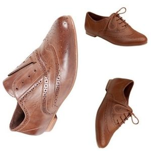 Steve Madden Trouser Brown Leather Oxford Shoes